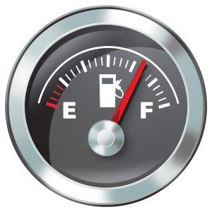 zegar paliwa
